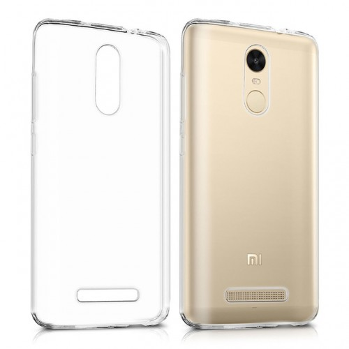 Case for Xiaomi Redmi 5 Silicone Transparent