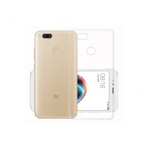 Case for Xiaomi Mi A1 Silicone Transparent