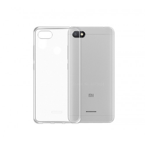 Case for Xiaomi Redmi 6A Silicone Transparent
